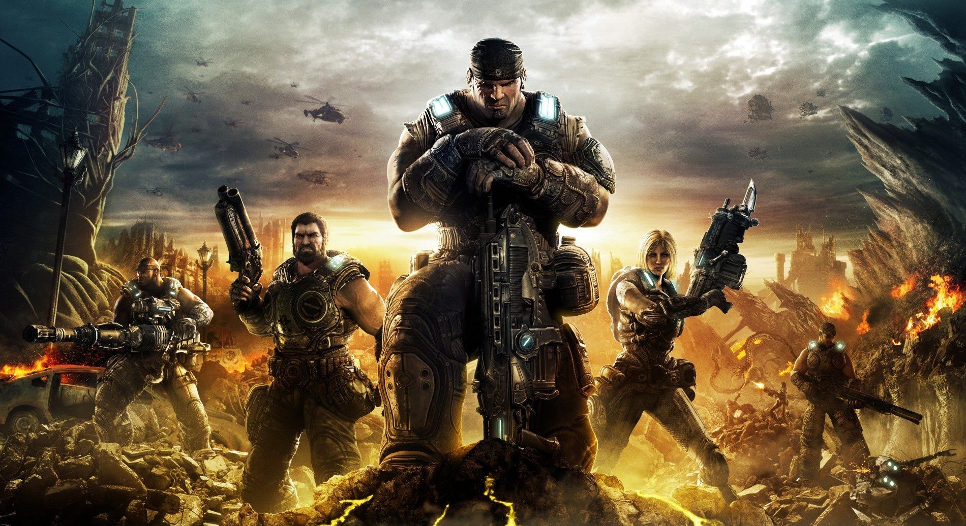 Gears of War: With this, I truly appreciated the co-op & online play with others.